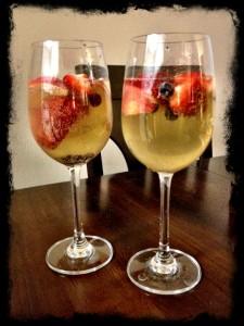 Champagne Fruit Salad