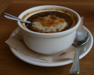 Onion Soup MessHall Restaurant Los Angeles