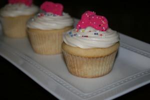Circus Animal Cookie Cupcakes