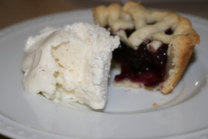 Mini Strawberry and Blueberry Pie