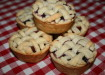 Mini Strawberry and Blueberry Pies