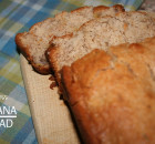 The Best Eggless Banana Bread