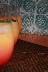 Jalapeno, Malibu Rum, Sunrise