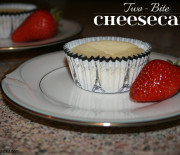 Two-Bite Cheesecake