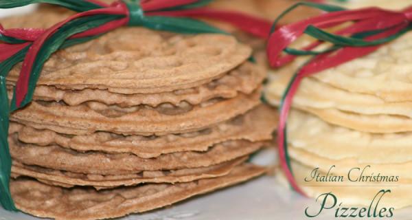 Italian Christmas Pizzelles