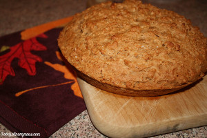Honey-Molasses Skillet Bread