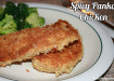 Spicy Panko Chicken