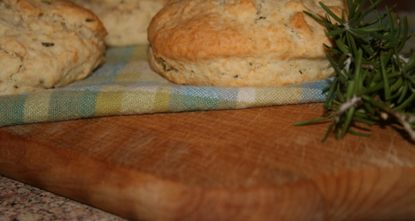Rosemary Buttermilk Biscuits