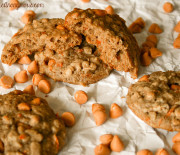 Oatmeal Carrot and Butterscotch Cookies
