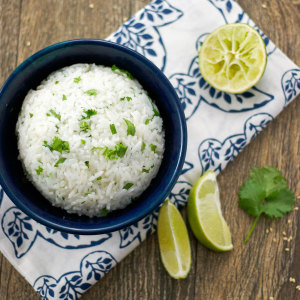 Cilantro Lime Rice - www.FoodieAnonymous.com