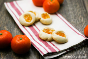 Orange Marmalade Thumbprint Cookies - www.FoodieAnonymous.com